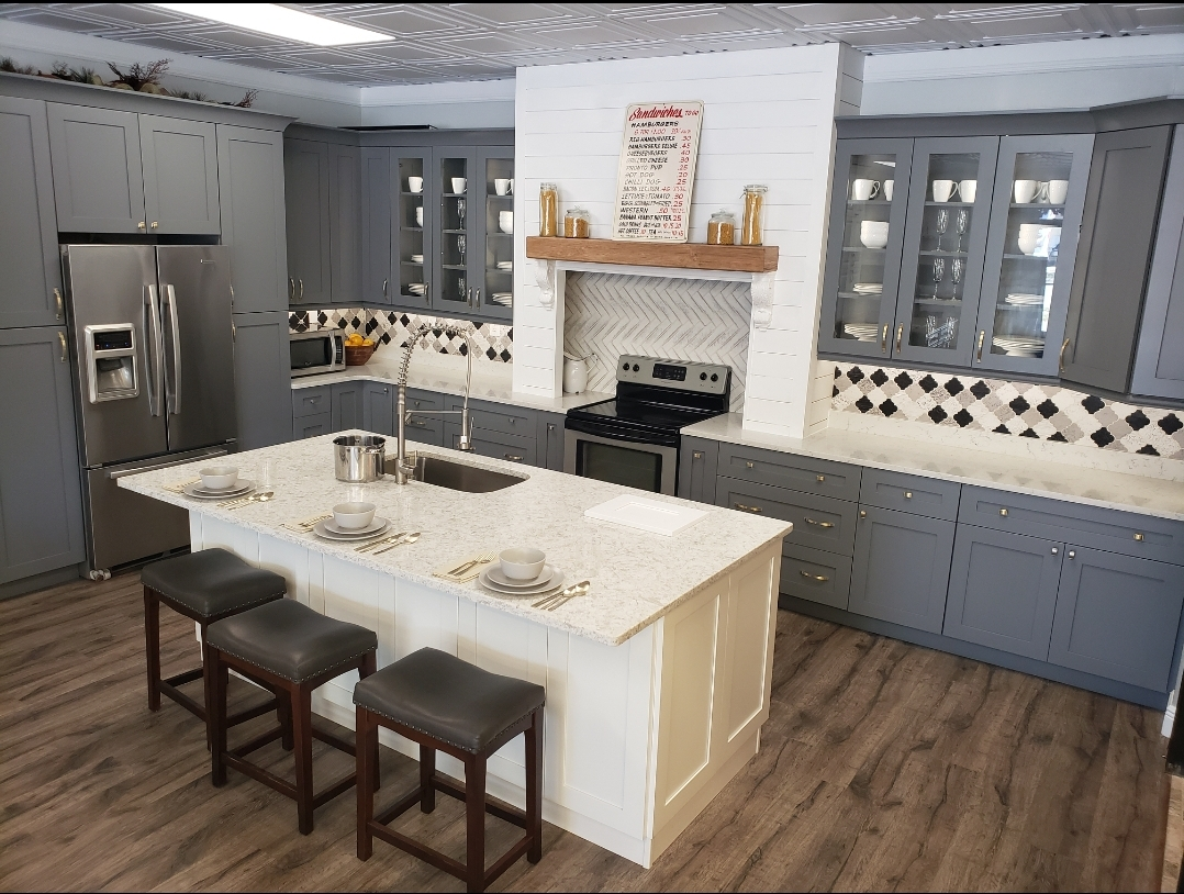 Storm Grey Cabinets Our Dream Kitchen